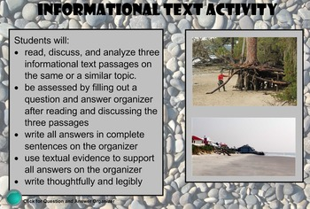Fifth Grade Georgia Milestones Test Prep: Earth Science Informational Texts