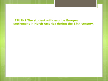 Georgia Milestones US History SSUSH1 Interactive Notebook Notes