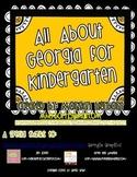 Georgia- My State booklet- Kindergarten