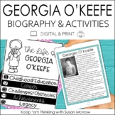 Georgia O'Keefe Biography & Reading Response Activities |