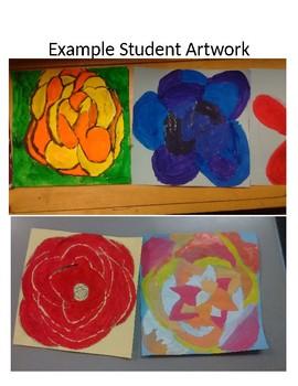 Georgia O'Keefe ELA Art Integration Lesson RI.4.1, RI.4.2