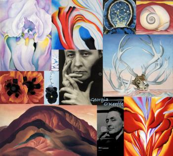Georgia O'Keeffe Art History ~ FREE POSTER ~ American Mode