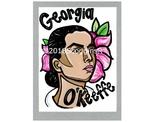 Georgia O'Keeffe- Artist Poster