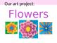 Georgia O'Keeffe Flower Art Lesson