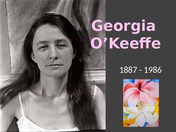 Georgia O'Keeffe Flower Art Lesson