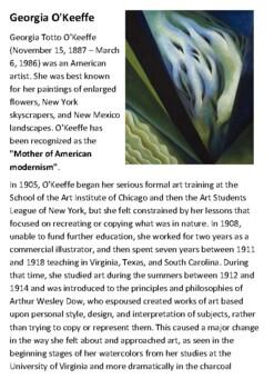 Georgia O'Keeffe Handout