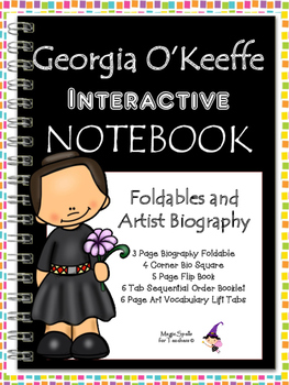 Georgia O'Keeffe Interactive Notebook Foldables