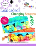 Georgia O'Keeffe Lake George: Changing Seasons Lesson Plan Pack with Worksheets