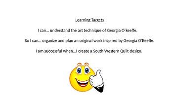 Georgia O'Keeffe Power Point Lesson