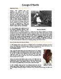 Art History: Georgia O'Keeffe Read-A-Long & Worksheet (fill in the blank)