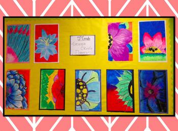 Fifth Grade-Georgia O'Keeffe Value Project