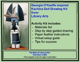 Georgia O'Keeffe inspired Kachina Doll Drawing Activity Kit