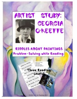 Georgia O'Keeffe Art Riddles:  A Reading Comprehension and Art Activity