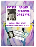 Georgia O'Keeffe Bone Study:  A Reflective Writing and Art Project