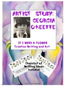 Georgia O'Keeffe Creative Writing Activity