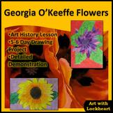 Georgia O'Keeffe Flowers