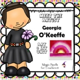 Georgia O'Keeffe Activities - Famous Artist Biography Art Unit
