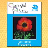 Georgia OKeeffe - Oil Pastel Flowers