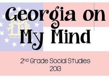 Georgia On My Mind Information and Graphic Organizer