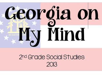 Georgia On My Mind Information and Graphic Organizer