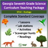 Georgia Performance Standards - 7th Grade - S7L4: Ecology