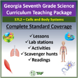 Georgia Performance Standards - 7th Grade - S7L2: Cells and Body Systems