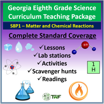 Georgia Performance Standards - 8th Grade - S8P1: Matter and Chemical Reactions