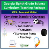 Georgia Performance Standards - 8th Grade - S8P3: Force and Motion