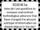 Georgia Performance Standards Essential Questions / Vocabulary 4th grade Science
