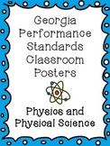Georgia Performance Standards Physics and Physical Science Poster