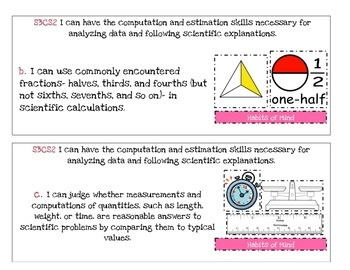 Georgia Performance Standards Posters 3rd Grade- Science