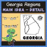 Georgia Regions - 5 Main Idea and Detail Sorts