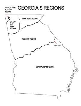 Georgia Regions Anchor Chart