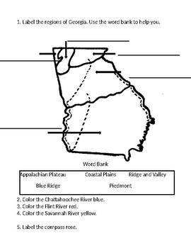 Georgia Regions Assessment