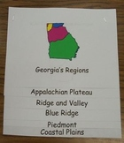 Georgia Regions Book Common Core Reading Unit 3