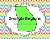 Georgia Regions- Cut and Paste