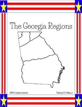 Georgia Regions Flip Book