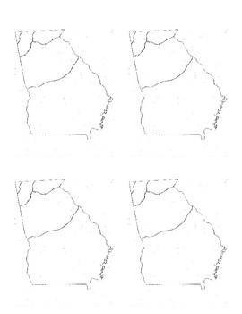 Georgia Regions Graphic Organizer