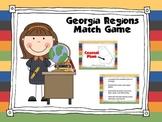 Georgia Regions Memory Match Game