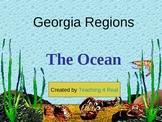 Georgia Regions: Ocean, Barrier Islands