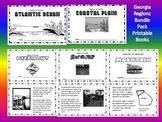 Georgia Regions Printable Book Bundle Pack-Common Core
