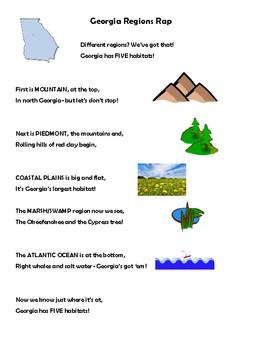 Georgia Regions Rap- Georgia Habitats