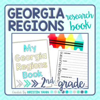 Georgia Regions Research Book