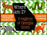 Georgia Regions and Habitat Where Am I Scoot