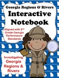 Georgia Regions and Rivers Interactive Notebook