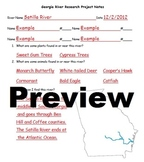 Georgia River Notes Handout