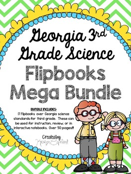 Georgia Science 3rd Grade Flipbooks BUNDLE (Interactive Notebooks)