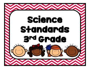 Georgia Science Standards Third Grade GSE Updated