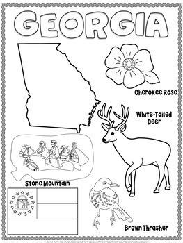 Georgia Word Search
