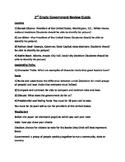 Georgia Second Grade Government Review